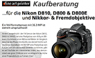Kaufberatung NIKON D810