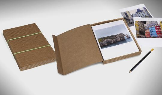 Gratis: Schnittbogen für Portfoliobox